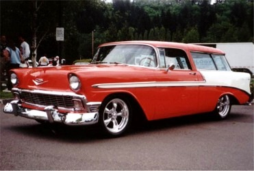 Bud Worley's 1956 Chevy Nomad
