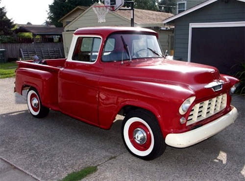 Wpc Indexon 1956 Chevy Cameo Pickup Truck