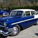 The Brinkley's 1956 Chevy Bel Air 4 Door Sedan Restomod Sleeper