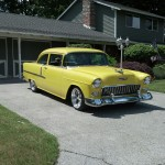 Erik Ward's '55 Gets on the road
