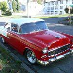 Lucky Jim Ketelsen and his 1955 Sedan