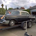 Stored since 1977, Vic's '57 sees the light of day